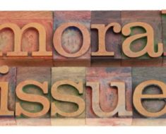 What Makes an Issue a Moral Issue?