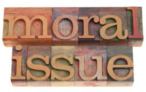 What Makes an Issue a Moral Issue?…………………..