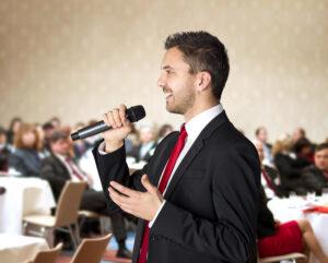 Public speaking & Conversation