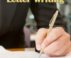 Business letters writing