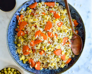 How to make coconut fried rice