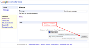Easy way to verify your site with google webmaster tools