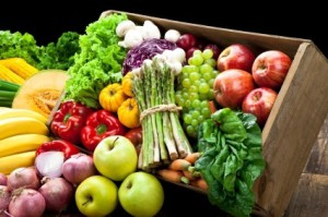 Eat vegetables and fruits
