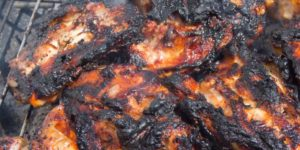 Don't overcook or burn your meat