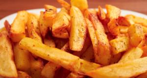 Eating Fried Potatoes