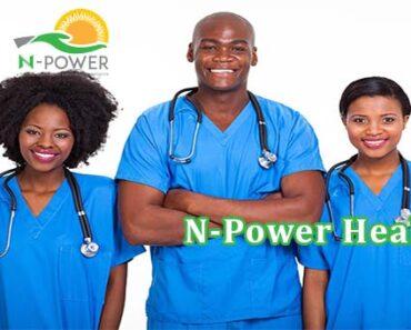 N-Power Health Programme
