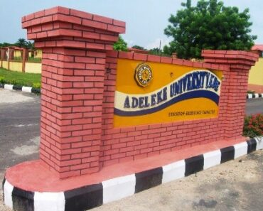 Adeleke University Courses
