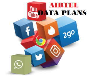 Airtel Social  Data Plans & Airtel Unlimited Data Plan Code & Prices.