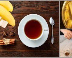 Banana Tea & Cinnamon