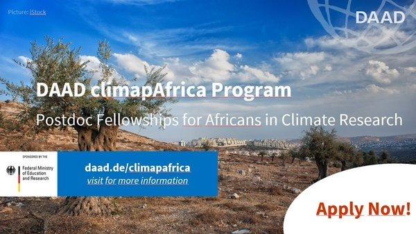 DAAD ClimapAfrica Fellowship 2020