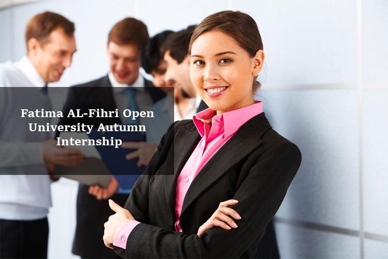 Fatima Al-Fihri Open University Autumn internship