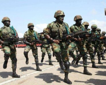 Ghana Air Force Shortlisted candidates