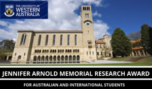 Jennifer Arnold Memorial Research Award
