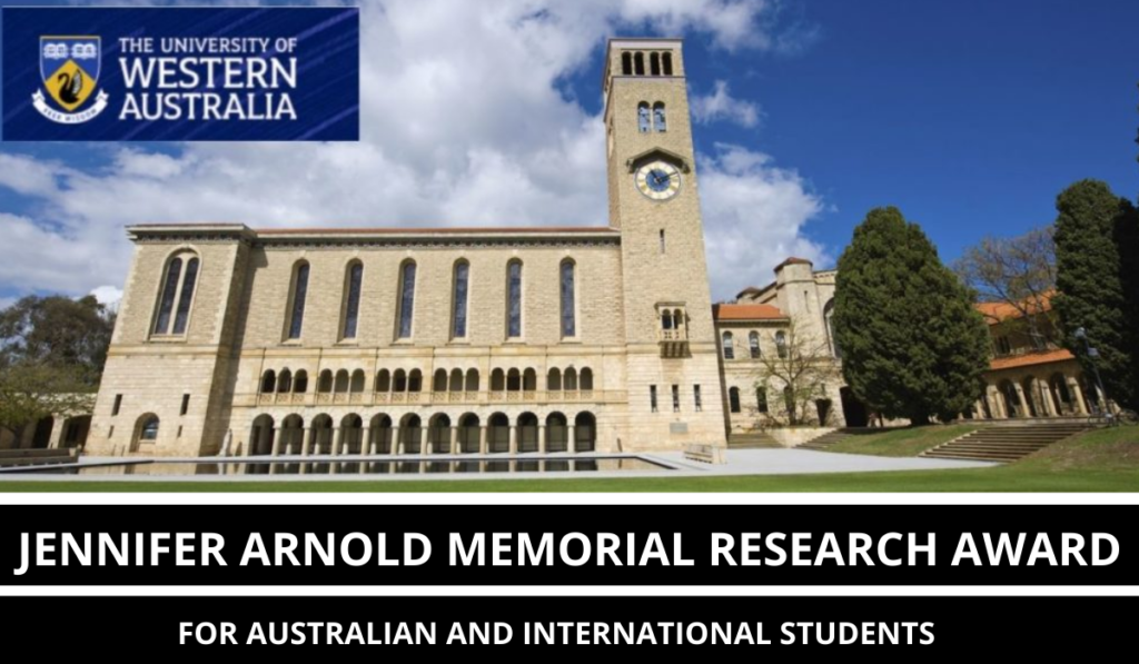 Jennifer Arnold Memorial Research Award