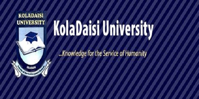 KolaDaisi University School Fees