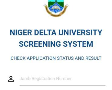 Niger Delta University Post-UTME Screening
