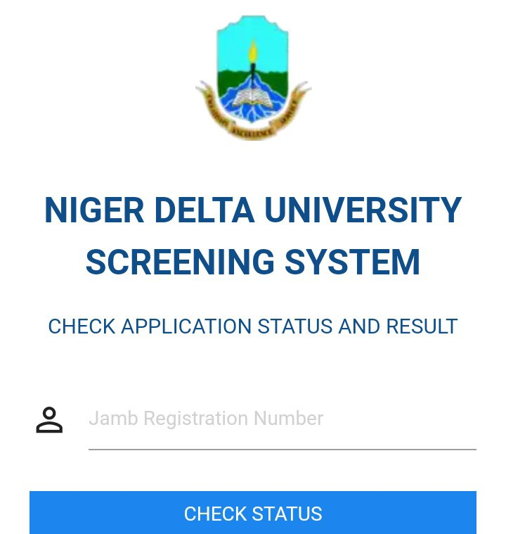 Niger Delta University Post-UTME Screening