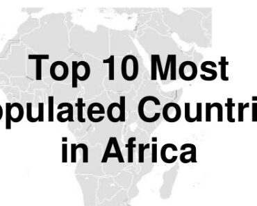 Populated Countries in Africa