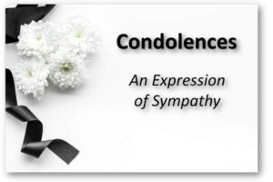 Simple Condolence Messages