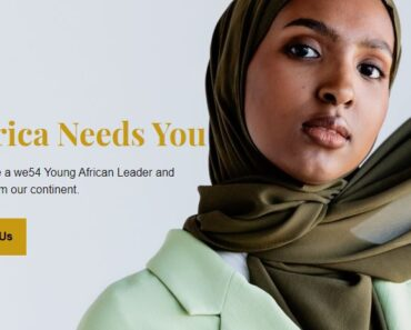 WE54 Young African Leader