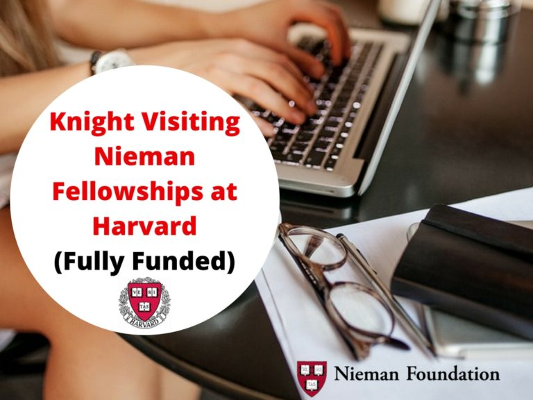 Knight Visiting Nieman Fellowships 2020
