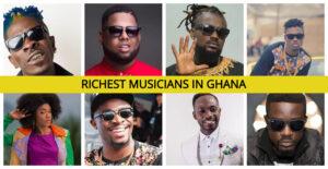 Richest Ghanaian Musicians