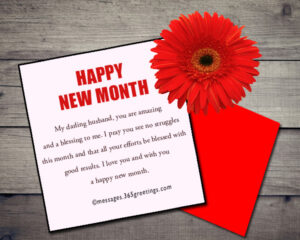 20 Best Happy New Month Wishes/Messages For September.