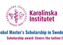 Karolinska Institutet Scholarships
