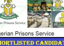 Nigerian Prison Service Shortlisted