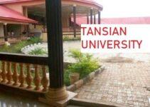 Tansian University Admission Form
