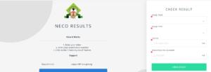 NECO Result Portal