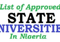 NUC Approved Universities & Courses