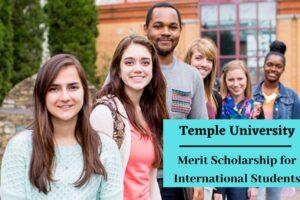 Temple University Scholarship