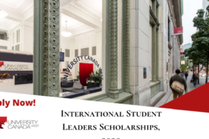 University Canada Wes International Scholarship
