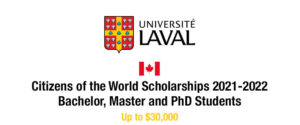 Citizens of the World Scholarship
