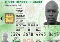 Register For National Identity Card