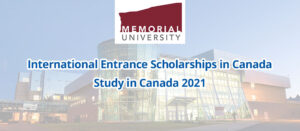 Scholarships at Memorial University