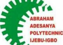 abraham adesanya polytechnic courses and admission requirements