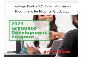 Heritage Bank Graduate Trainee