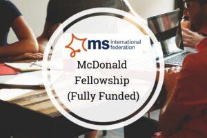 McDonald Fellowship