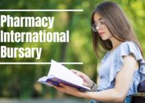 University of Manchester Pharmacy International Bursary