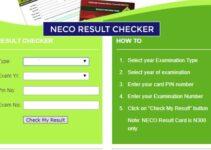 Check YourNECO Results