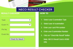 Check Your NECO Results