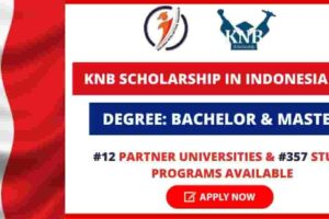 Indonesian Government KNB Scholarship