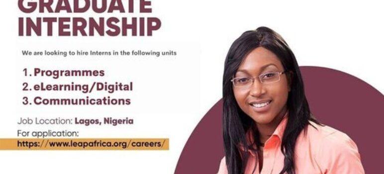 LEAP Africa Graduate NYSC Internship