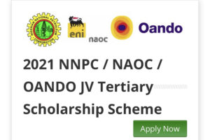 NNPC/NAOC/OANDO Scholarship