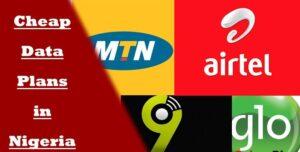Cheap Data Plan In Nigeria