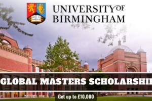 University of Birmingham Global Scholarship