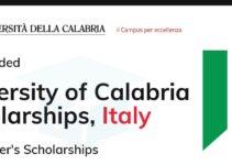 University of Calabria Master's Awards