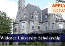 Widener University Scholarship